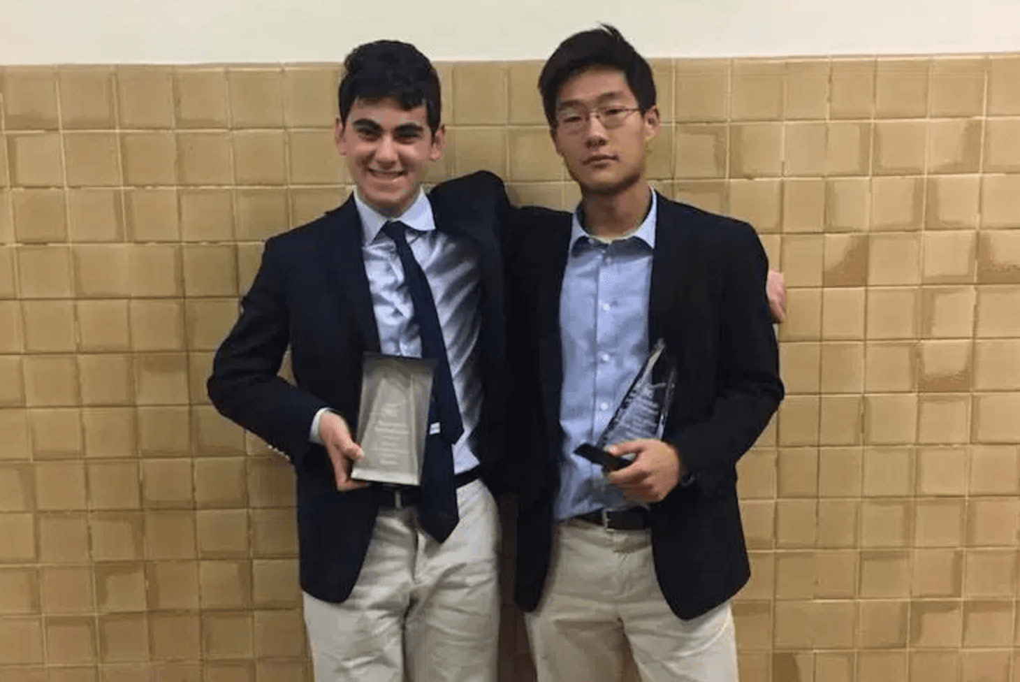 Harrison's Raffi Piliero and Millburn's Chris Sun Co-Champ the 2016 Scarsdale Invitational