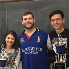 Byram's Lindsey Perlman and American Heritage's David Min Co-Champion Yale