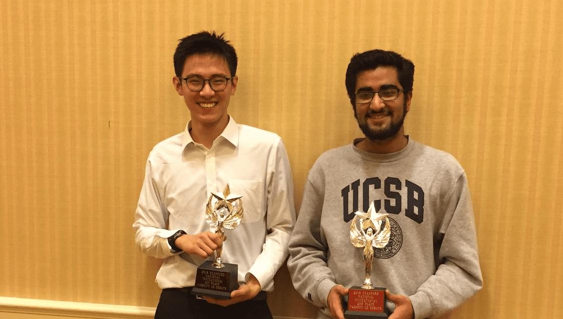 MVLA's Derek Zhang wins Stanford!