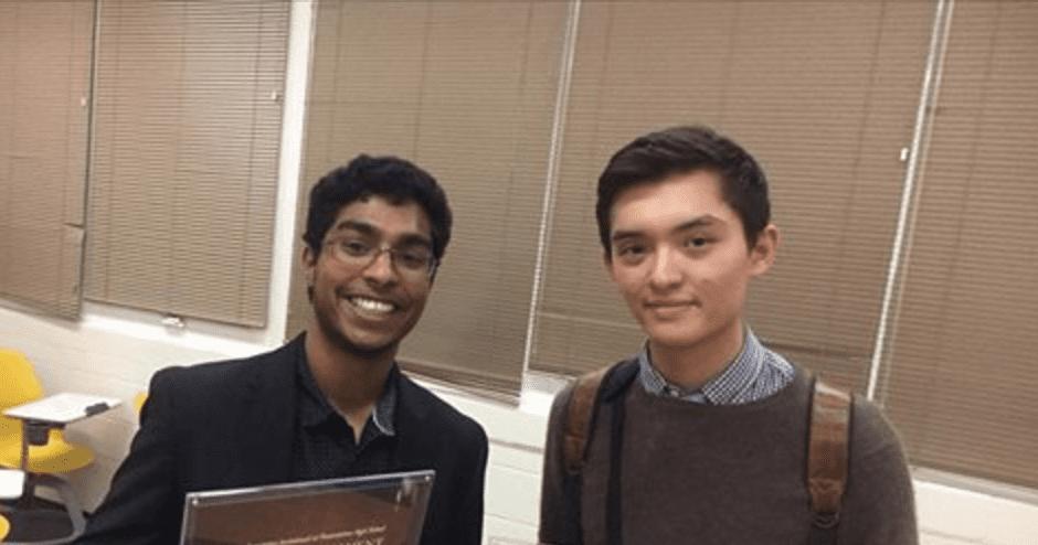 Srivatsav Pyda Wins the 2016 Voices Invitational